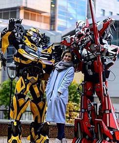 костюмы роботов для аниматоров в наличии