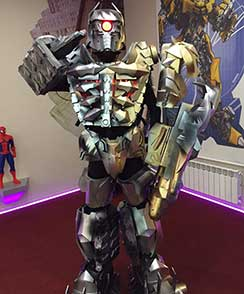 костюмы роботов для аниматоров с доставкой по миру