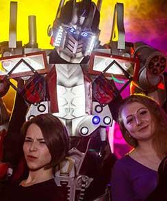 костюмы роботов для аниматоров под заказ
