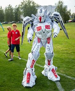 костюмы роботов для аниматоров от производителя